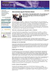 Variable Vergütung Fachartikel Zielvereinbarung mit flexiblen Zielen